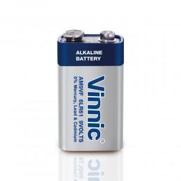 高性能鹼性電池 9V  (無水銀) (1粒環保裝) x 5