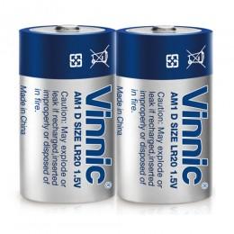 高性能鹼性電池 D  (無水銀) (2粒環保裝) x 2