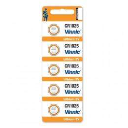 鈕型鋰電池 CR1025 (5粒咭裝) x 5