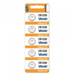 鈕型鋰電池 CR1220 (5粒咭裝) x 5