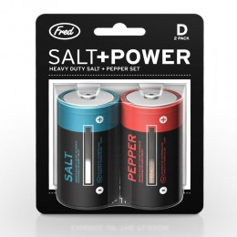 電池造型鹽胡椒瓶 (Salt & Salt & Power Battery S&P)