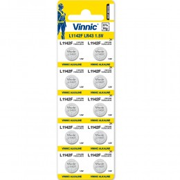 鹼性鈕型電池 LR43 (無水銀) (10粒咭裝) x 2