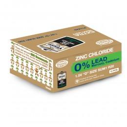 強效碳性電池 D (無鉛) (12粒盒裝)