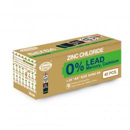 強效碳性電池 AA (無鉛) (40粒盒裝)
