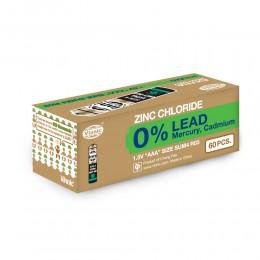強效碳性電池 AAA (無鉛) (60粒盒裝)
